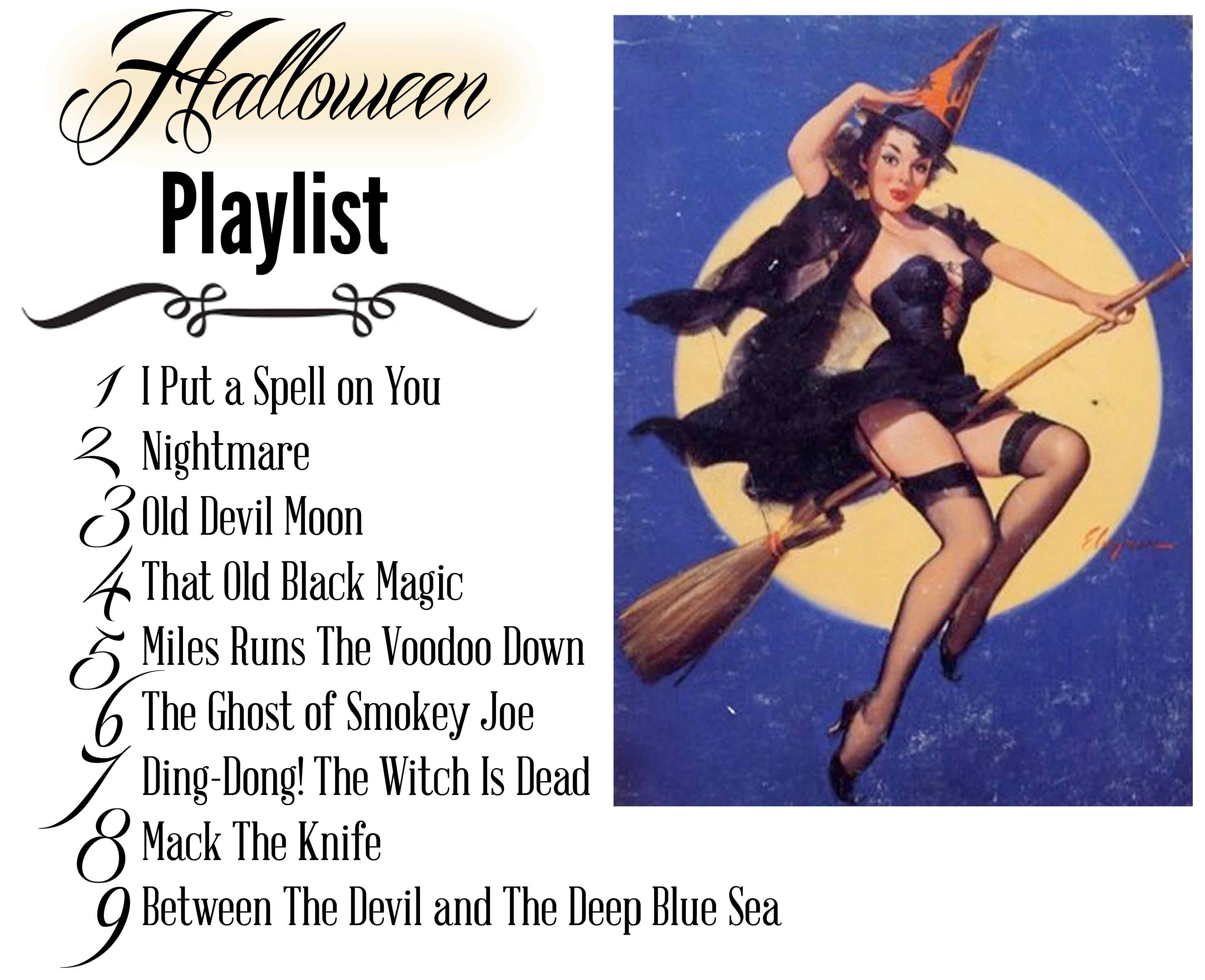 Halloween playlist | Married with Style
