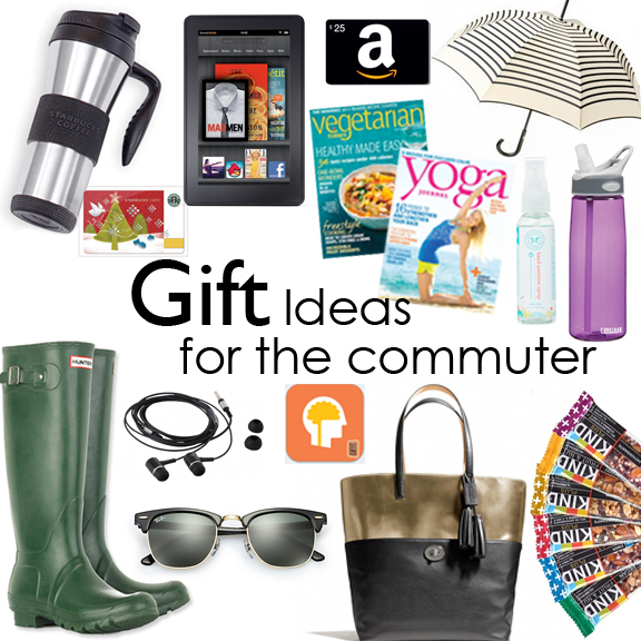 2013 holiday gift ideas for commuters