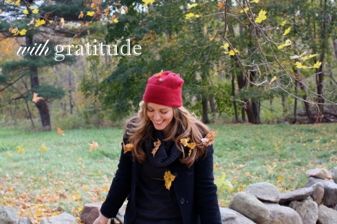 Iwith gratitude