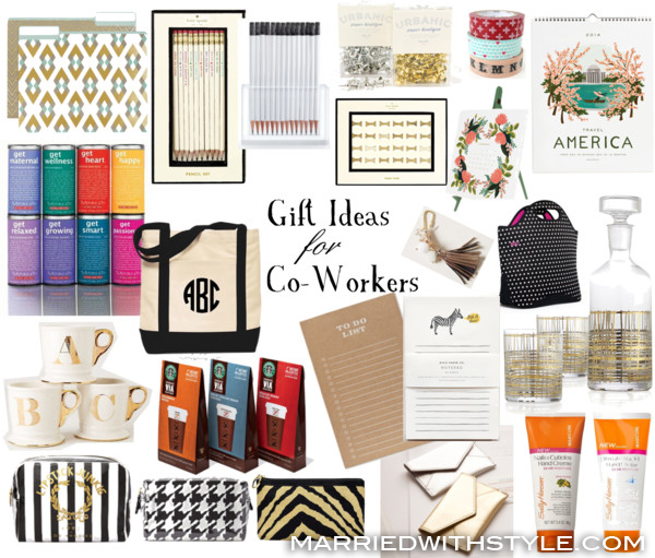 Gift Guide: Gift Ideas for Co-Workers (female edition) Married with ...