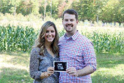 Pregnancy Announcement Photo1