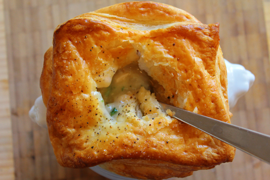 Whisk and Cleaver Chicken Pot Pie