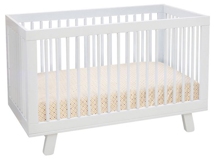 Babyletto white hudson crib