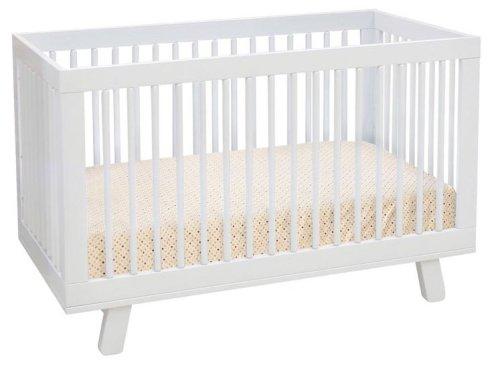 Babyletto white hudson crib