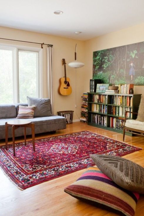 modern persian rug living room ideas