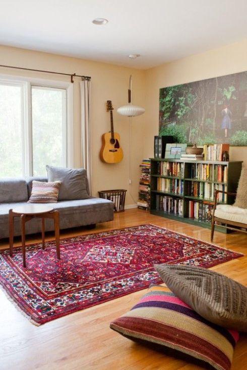 modern persian rug living room ideas