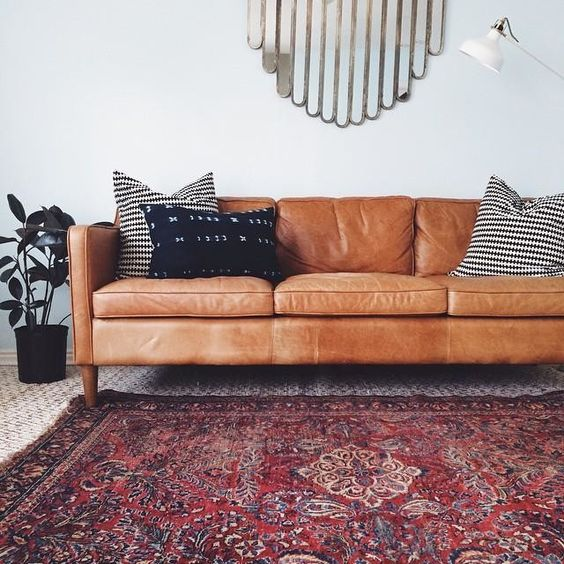 persian rug and west elm