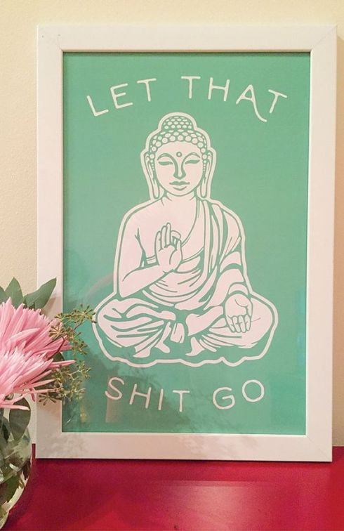 buddha-let-that-shit-go-art