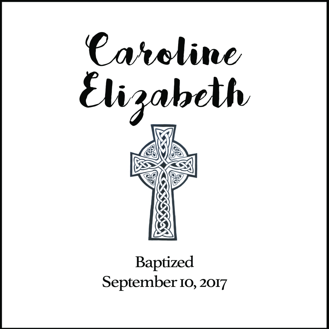 Baptism Print