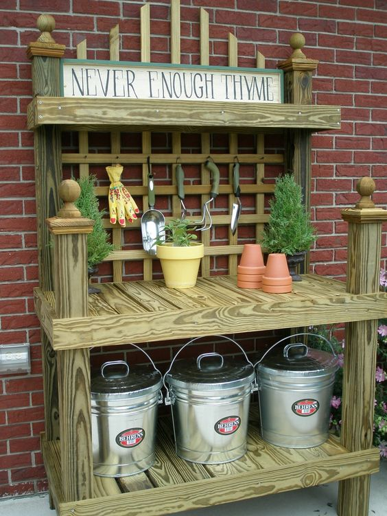 potting bench 3