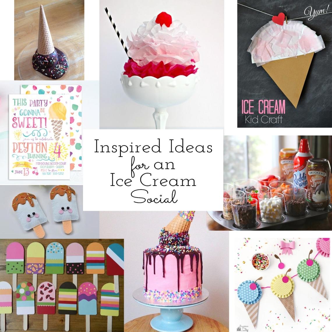 Ice Cream Social Mood Board
